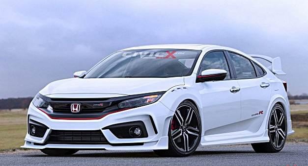 2018 Honda Civic Type R Rendered Auto Rumors