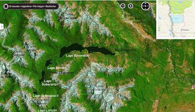 Resultado de imagen para lagos Montes y Soberanía.
