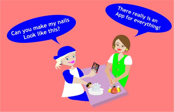 App for Nail Polish