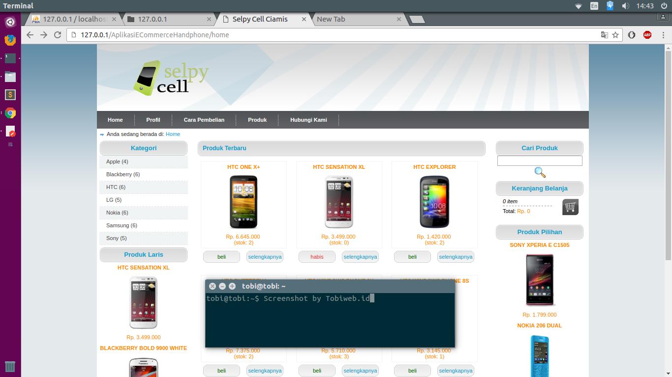 aplikasi e commerce tokoonline