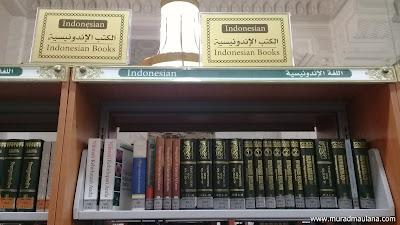 Koleksi Perpustakaan Masjidil Haram Berbahasa Indonesia
