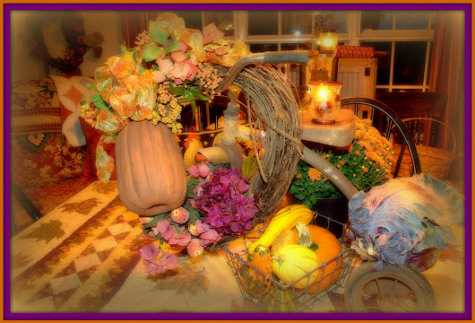 A Tricycle Tablescape