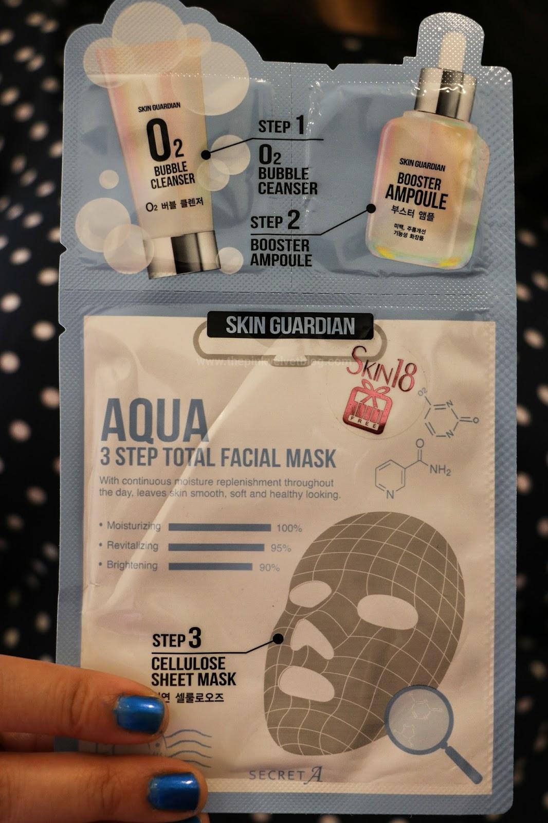 Skin18 Aqua Sheet Mask