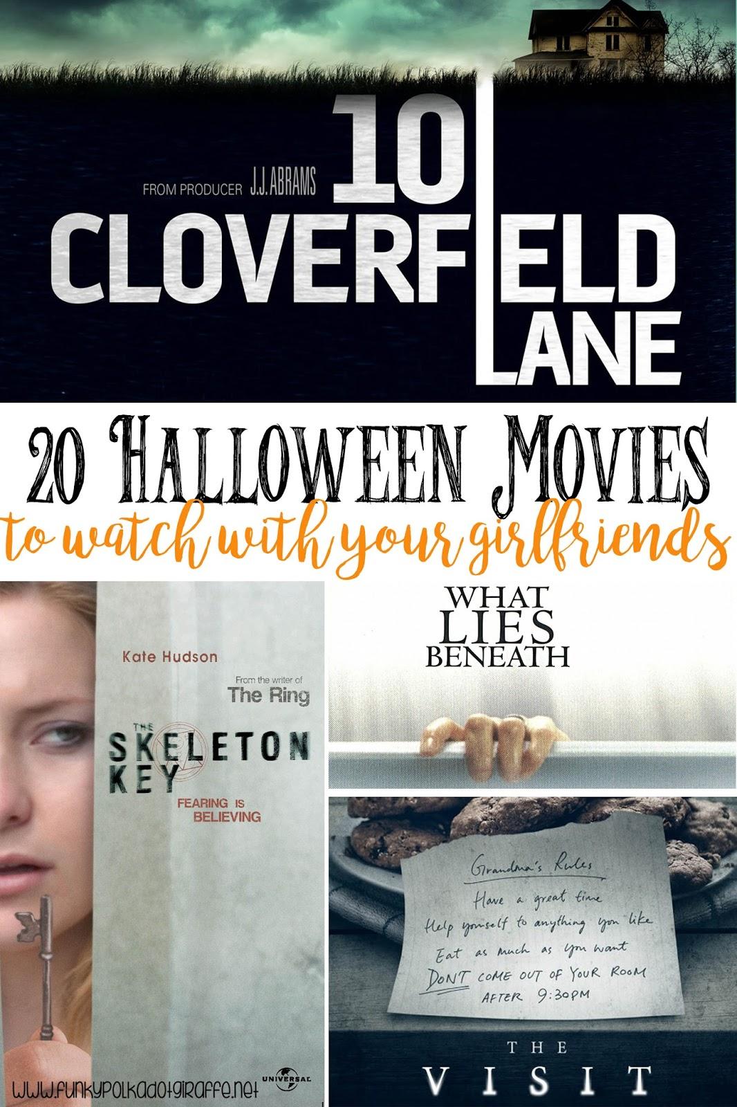 funky polkadot giraffe: 20 halloween movies to watch for girls' night
