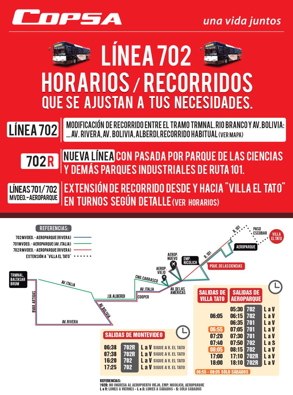 Horarios del transporte metropolitano y departamental for Horario ministerio del interior