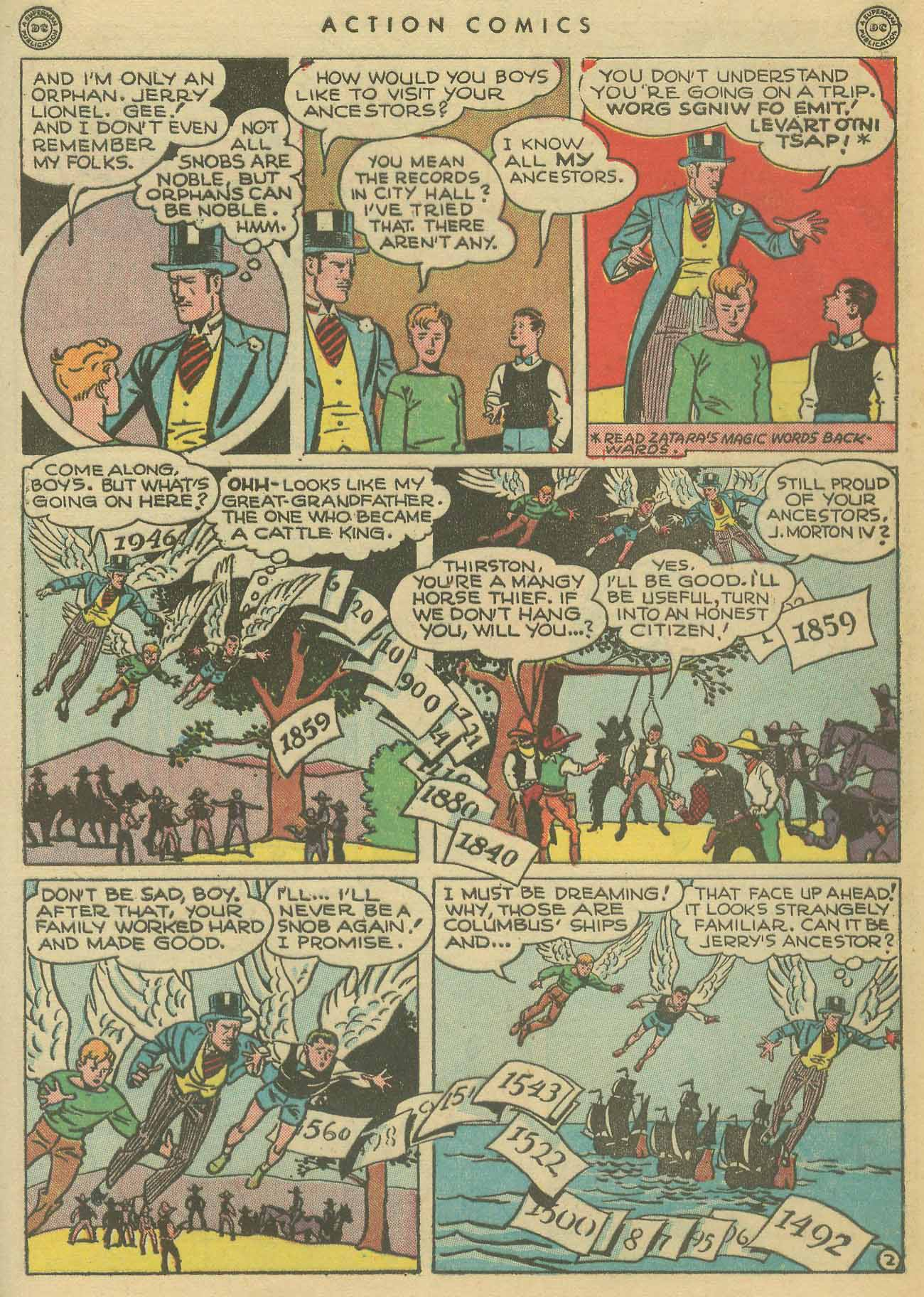 Read online Action Comics (1938) comic -  Issue #102 - 42