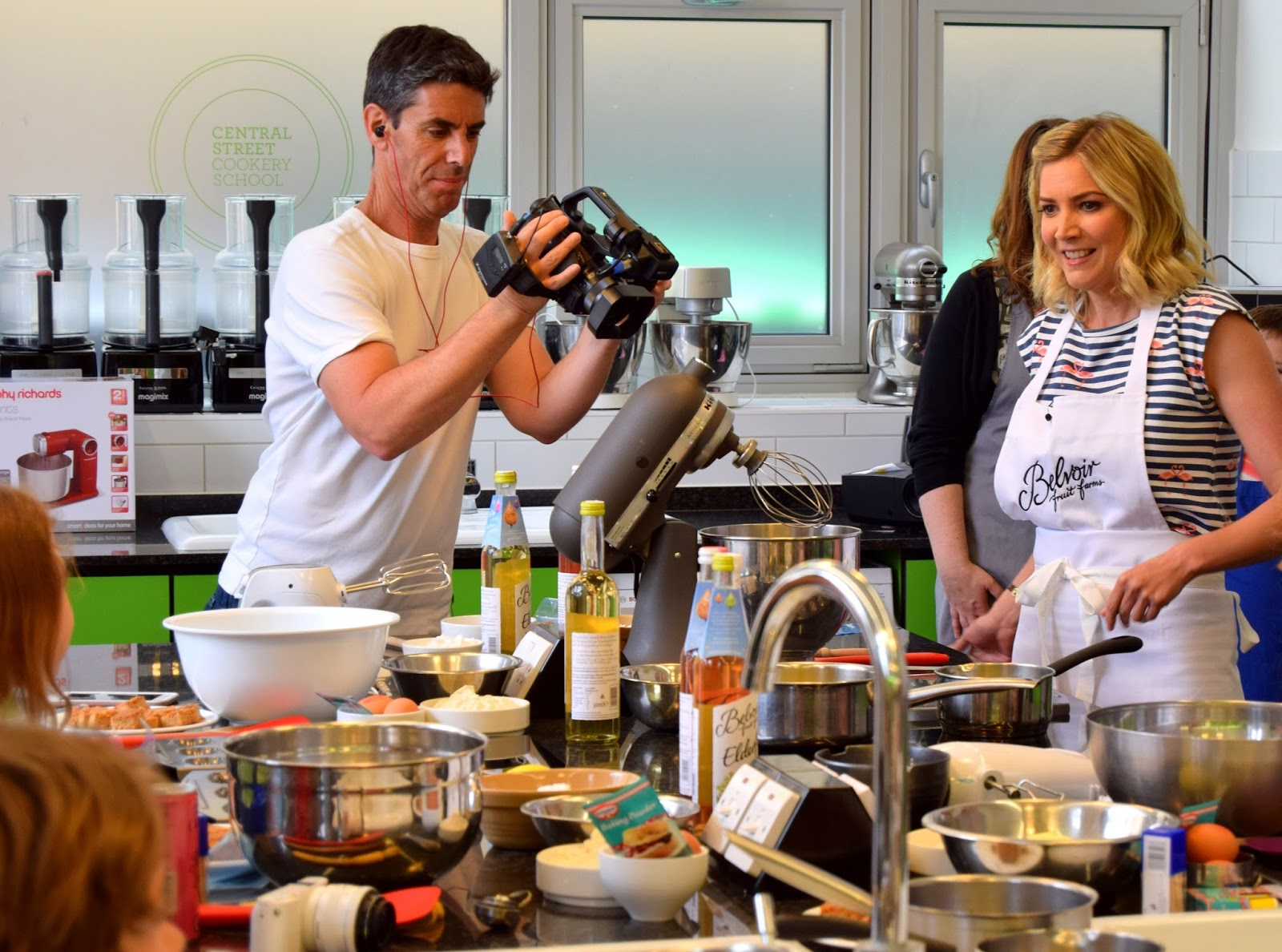 Cooking With Belvoir And Lisa Faulkner