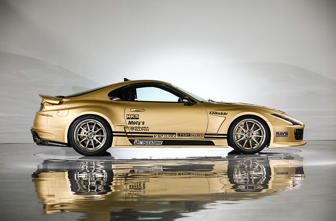 Top Secret's 943PS Toyota Supra V12 Is Looking For A New ...