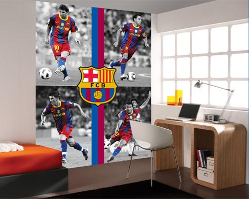 Futbol Club Barcelona, Fotomurales y Murales