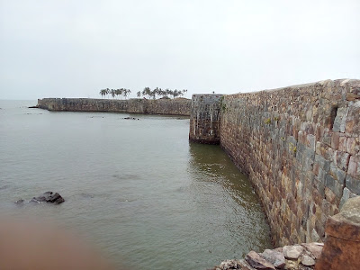 Amazing view of Sindhudurg fort