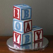 BYU vs. UofU Baby Shower Cake