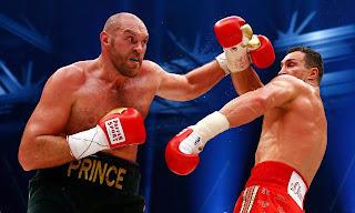 Former heavyweight Boxing champion Tyson Fury