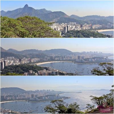 Mirante Botafogo no Morro da Babilônia