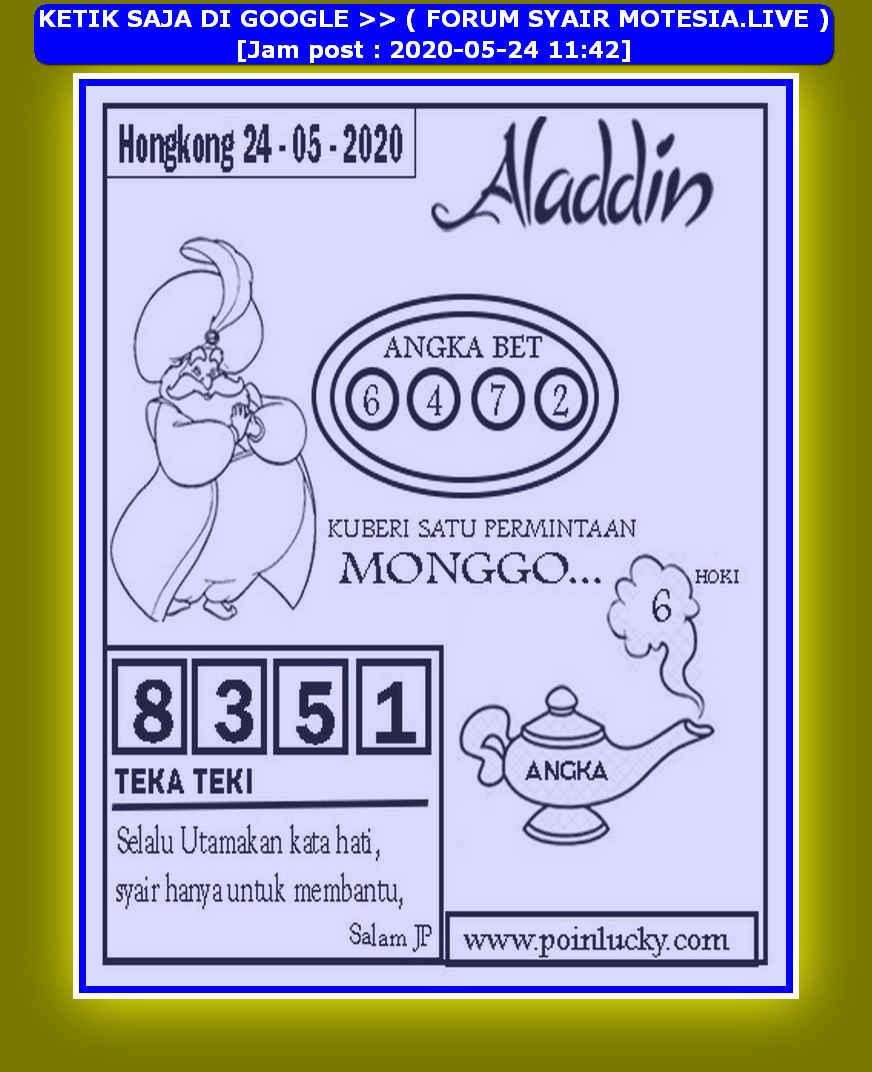 Kode syair Hongkong Minggu 24 Mei 2020 168