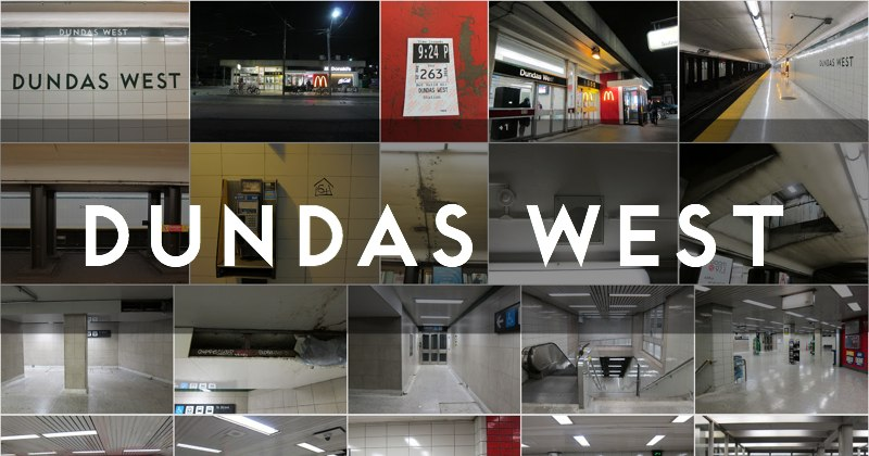 Photo Gallery for Dundas West subway station