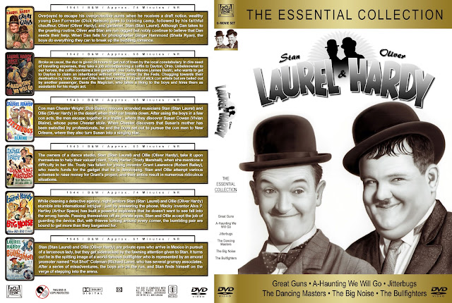 Laurel & Hardy: The Essential Collection DVD Cover