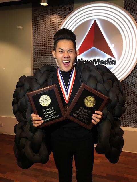 'เก่ง ธชย'  กับรางวัลจากการแข่งขัน World Championships of Performing Arts