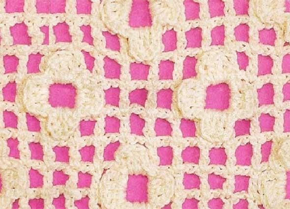 puntos, motivos, ganchillo, instrucciones, crochet