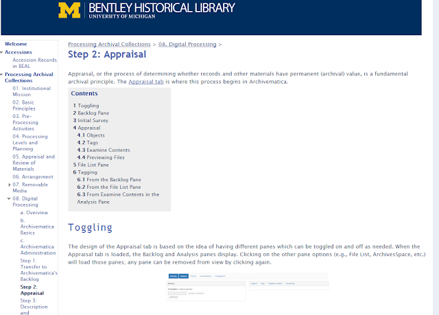 Bentley Historical Library digital processing manual