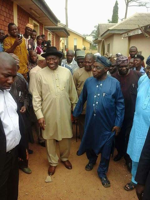 Olusegun Obasanjo, Goodluc Jonathan, Nigeria, Ogun