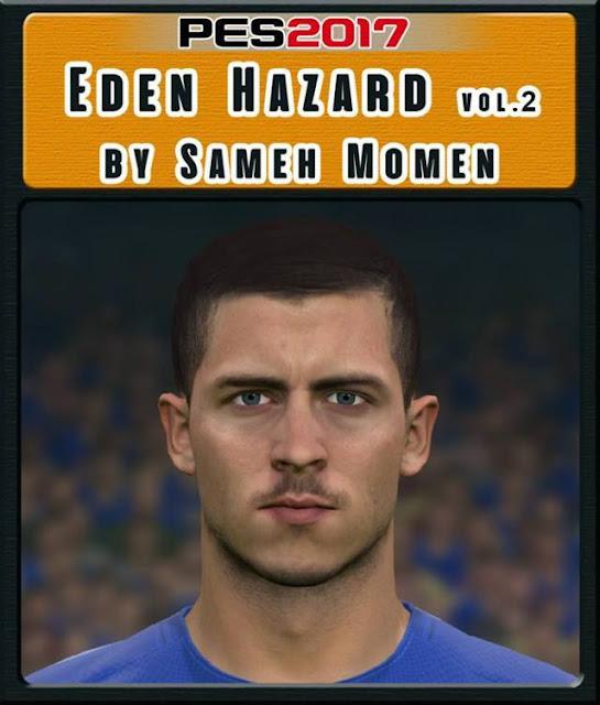 Eden Hazard Face (Chelsea F.C) PES 2017