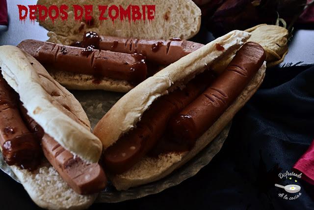 Dedos de zombie