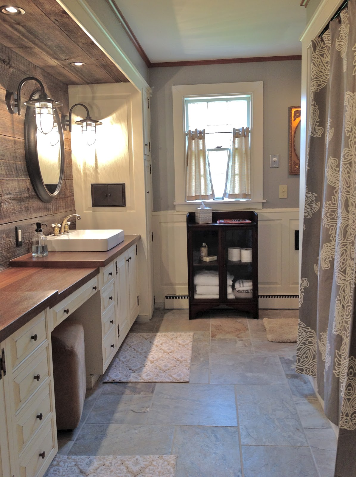 route 2 rural: Farmhouse Bathroom Remodel -- Done! on Farmhouse Bathroom Ideas  id=12536