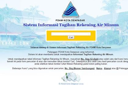 Cara Cek Tagihan PDAM Kota Denpasar