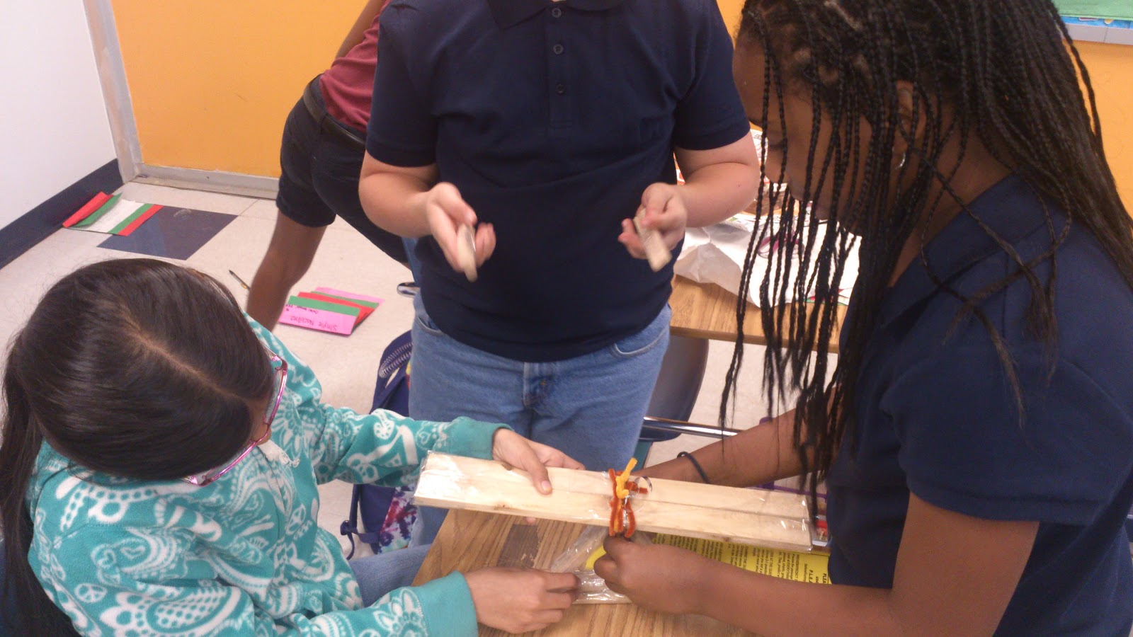 Mrs Martens Fifth Grade Class Students Create Simple Machines