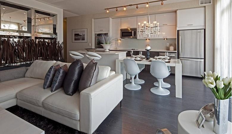 Dicas de decoração com espelho em salas de estar