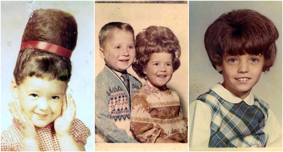 Groovy From Beehive To Flipped Bob Lovely Vintage Pictures Prove That Natural Hairstyles Runnerswayorg