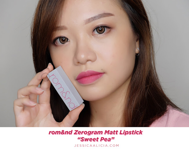 Review : ROMAND (rom&nd) Zerogram Matt Lipstick & Lip Driver by Jessica Alicia