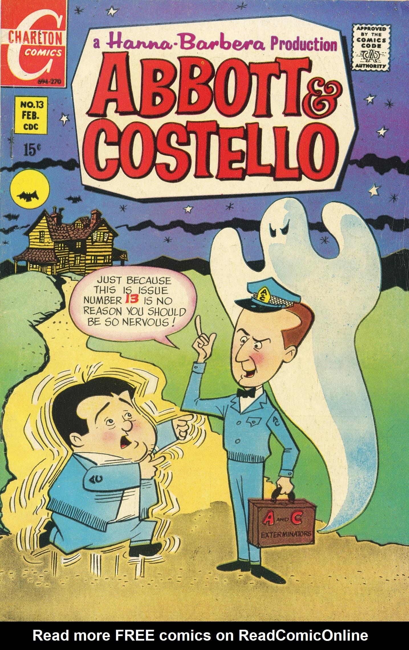 Abbott & Costello issue 13 - Page 1