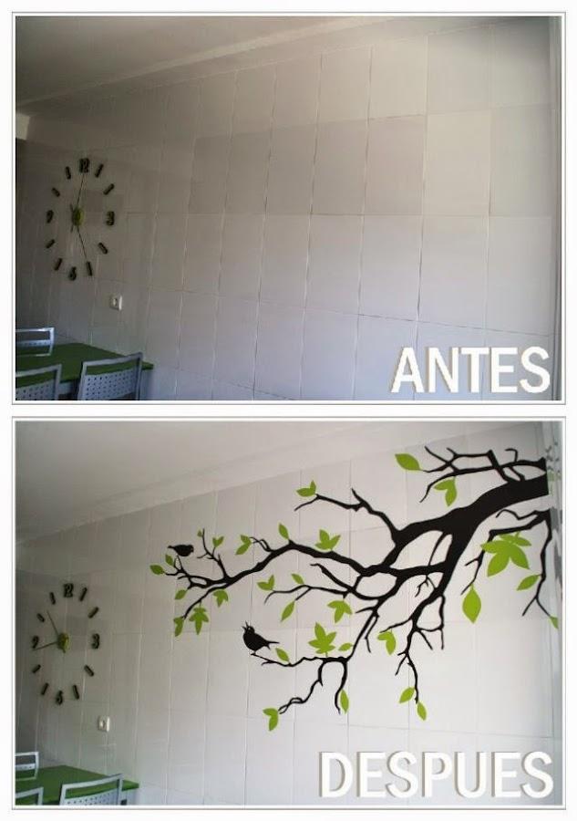 añadir vinilos para ahorrar en la decoracion de casa