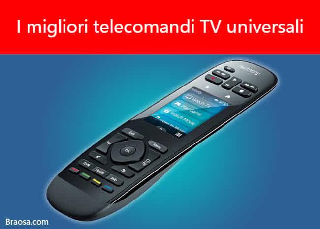 I migliori telecomandi TV universali