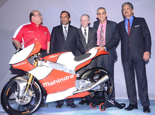 Mahinda Racing MGP3O Moto 3 superbike at Auto Expo 2016