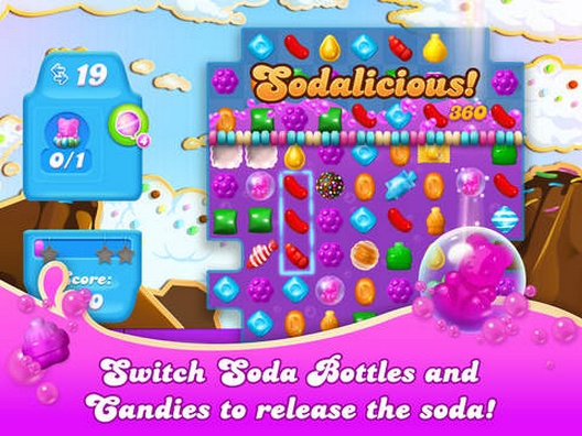 Candy Crush Soda Saga APK / APP Download [ Android/iOS APP ]