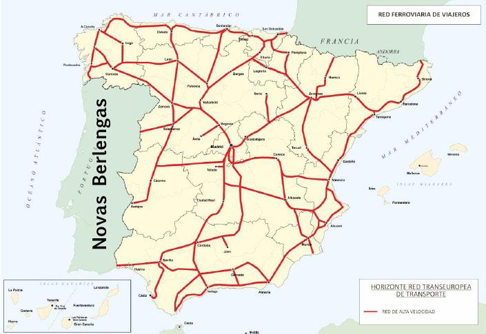 mapa comboios espanha O António Maria: Alta Velocidade by Ferrari mapa comboios espanha