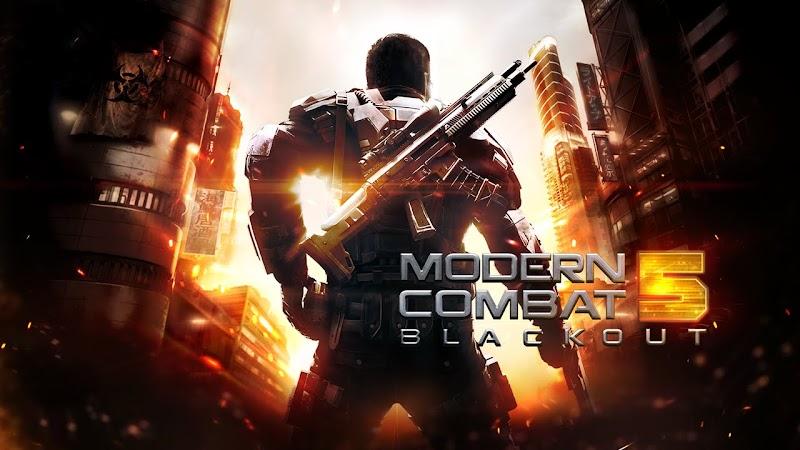 Modern Combat 5 Blackout MOD APK [Mega Mod] V1.6.0g +Data Android