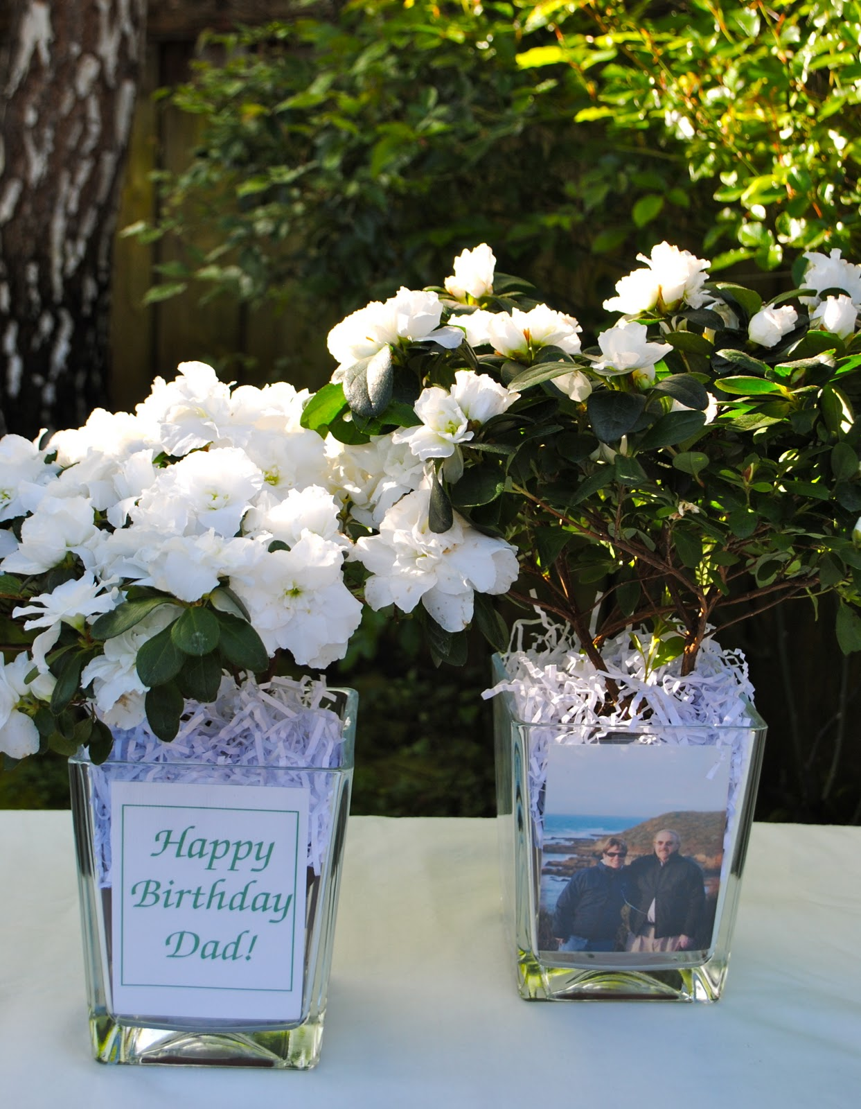 Diy Birthday Party Table Centerpieces