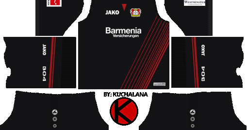 Bayer Leverkusen Kits 2017/18 - Dream League Soccer - Kuchalana