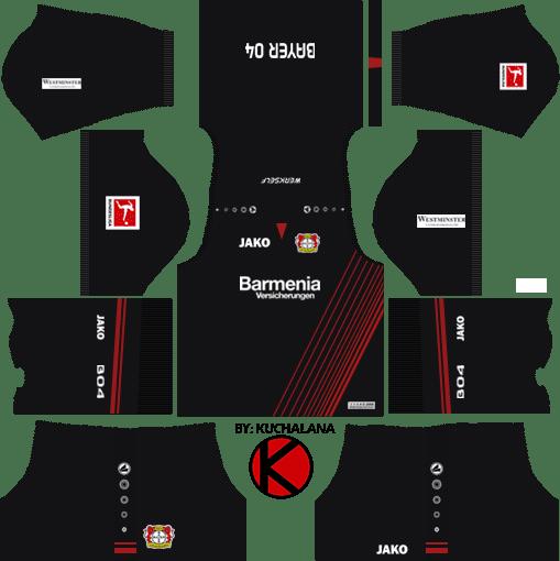 Bayer Leverkusen Kits 2017/18 - Dream League Soccer