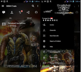 Download BBM MOD Crisis Action Terbaru