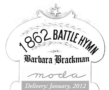 Barbara Brackman's MATERIAL CULTURE: 1862 Battle Hymn