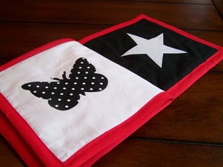 Free Baby Projects Black White Amp Red Fabric Book How To