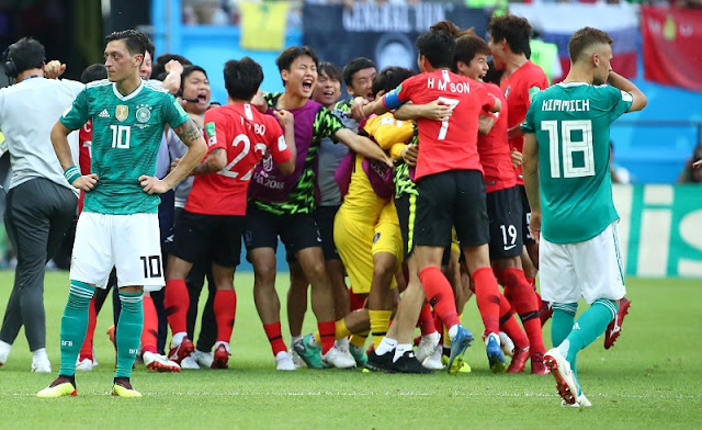 South Korea knock Germany out of the FIFA World Cup 2018