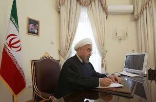 Ο Ιρανός πρόεδρος Χασάν Ρουχανί