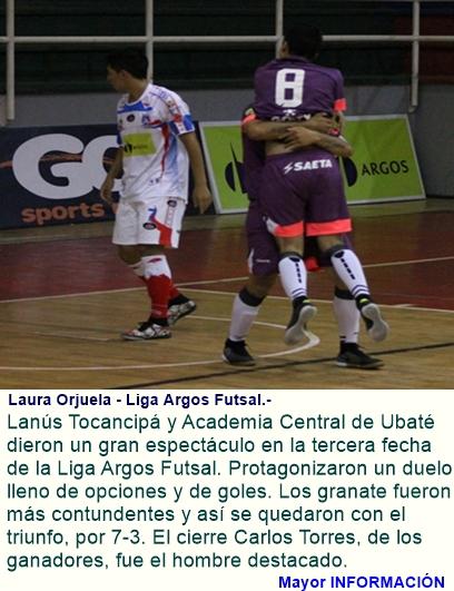 Futsal: Lluvia de goles en Tocancipá.