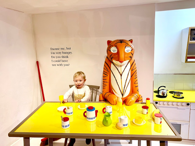 Sitting down with the tiger who came to tea at Discover stratford