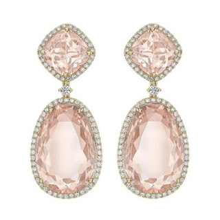 Kiki McDonough Morganite Earrings - Kate Middleton - Jewellery Blog - Jewellery Curated